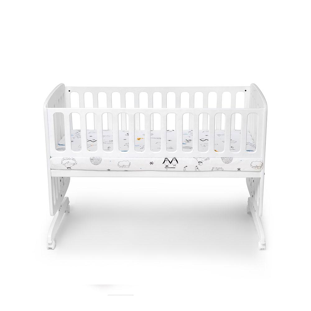 מיטת תינוק נצמדת גדולה
